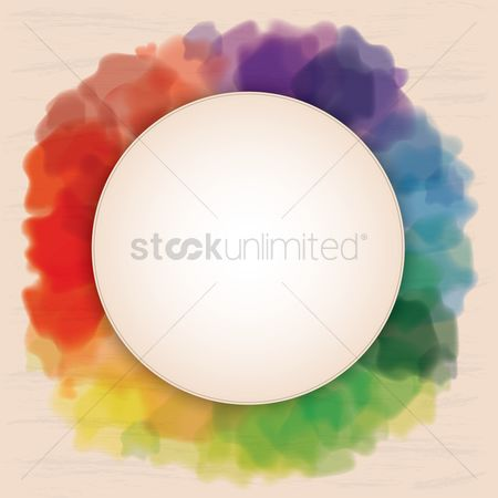 Rainbows : Colorful abstract background