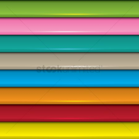 Panels : Colorful overlapping background