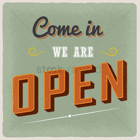 Oldfashioned : Come in we are open