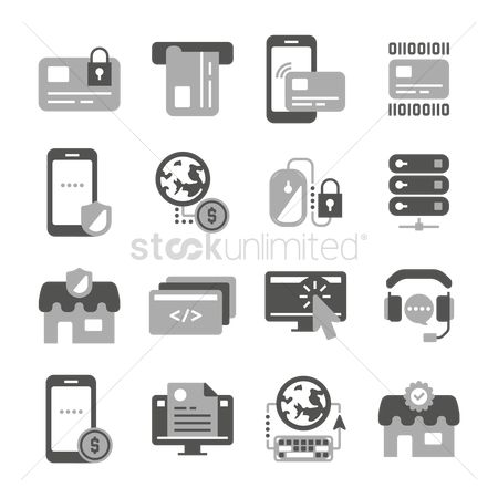 Cursors : Compilation of technology related icons