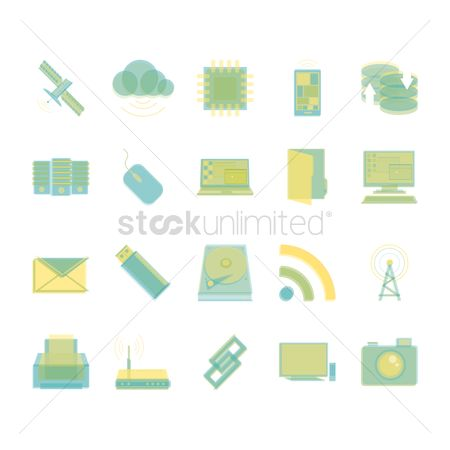 Routers : Computer icons