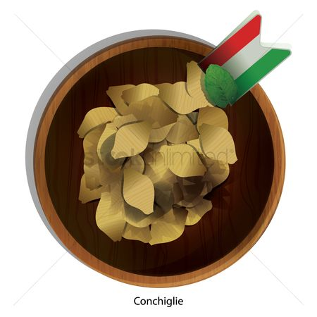Tricolored : Conchiglie