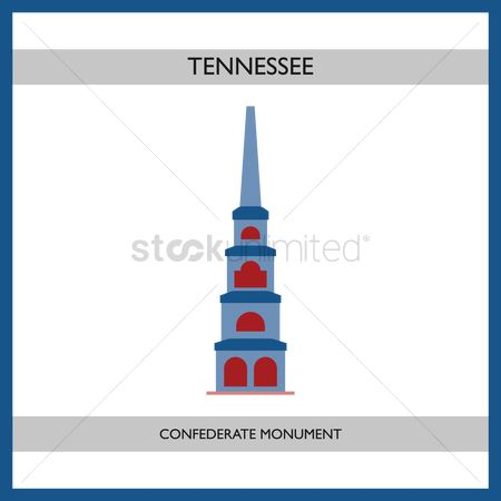 Tennessee : Confederate monument