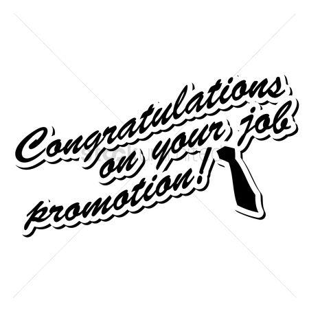 Free Congratulation Promotion Stock Vectors StockUnlimited