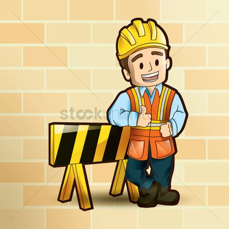 Barrier : Construction worker