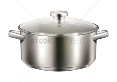 Households : Cooking pot