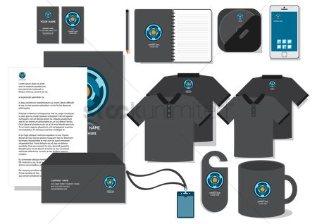 Phones : Corporate identity designs