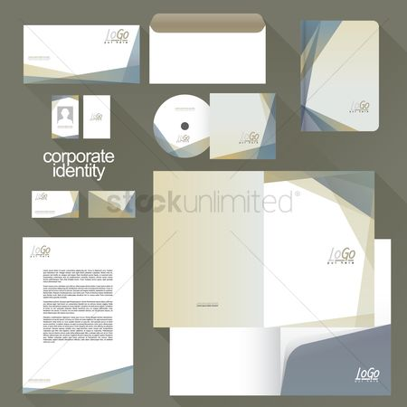Brochure : Corporate identity elements