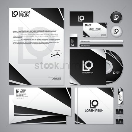 Stationary : Corporate identity elements