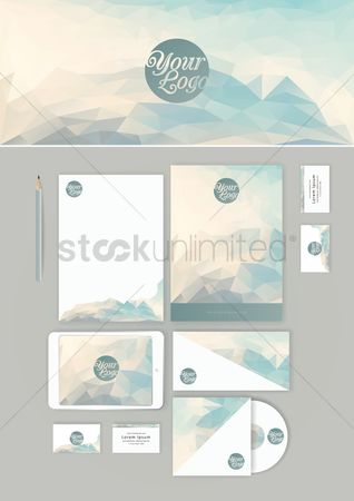 Supply : Corporate identity wallpaper