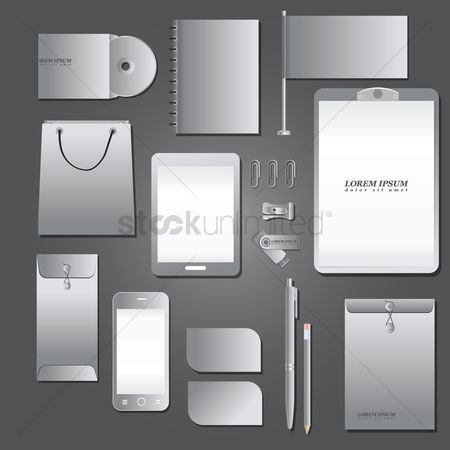 Tablet : Corporate identity