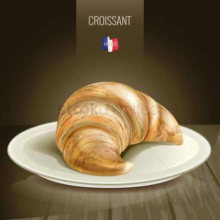 French food : Croissant