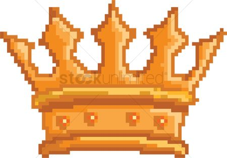 Royal : Crown pixel art