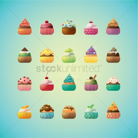 Confectionery : Cupcake