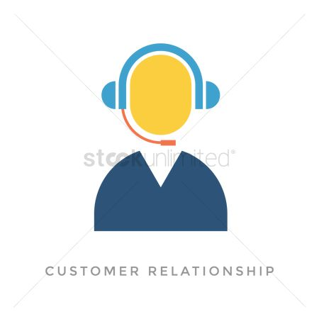 Customers : Customer relationship concept