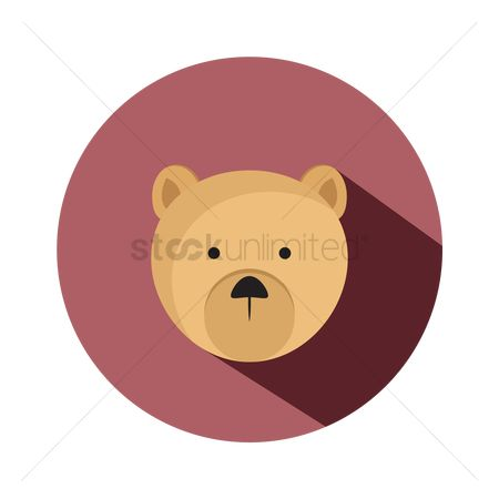 Teddybear : Cute bear face