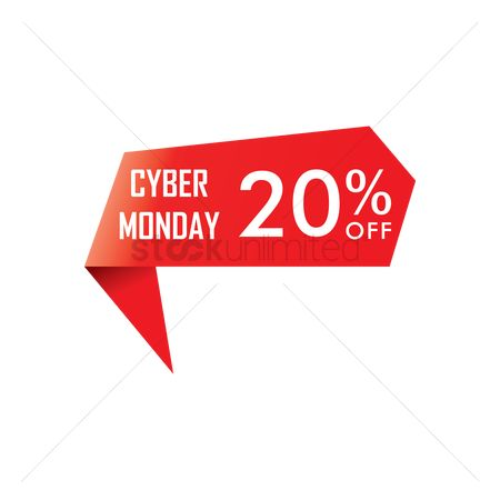 E commerces : Cyber monday sale ribbon