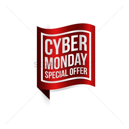 Terms : Cyber monday special offer label