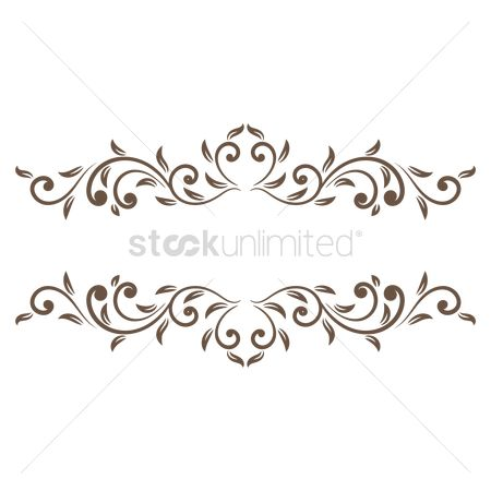 Copyspaces : Decorative frame border