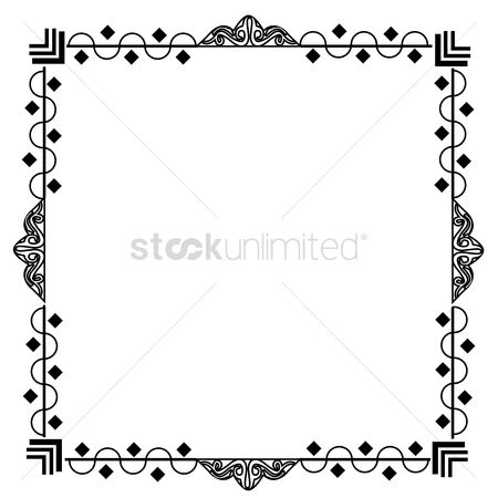 Picture : Decorative frame