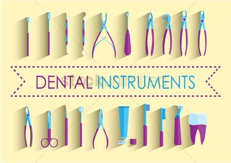 Dentist : Dental instruments