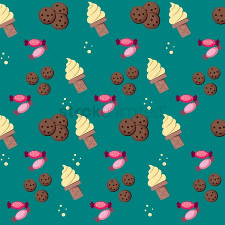Biscuit : Dessert related background