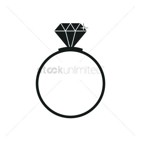 Proposal : Diamond ring silhouette