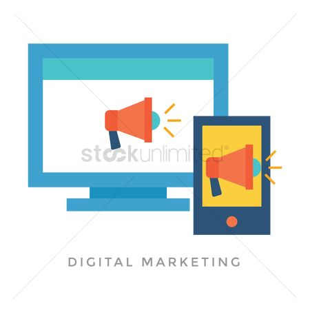 Market : Digital marketing concept