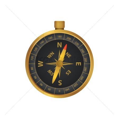 Nautical : Direction compass