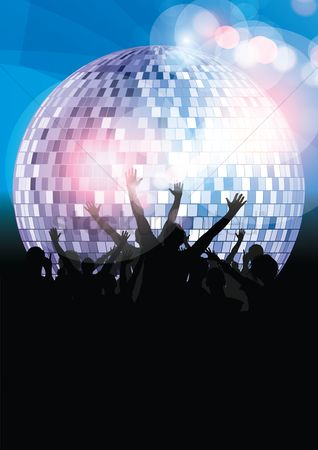 Dancing : Disco night party