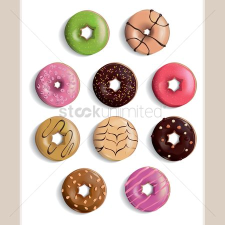 Confectionery : Doughnut collection