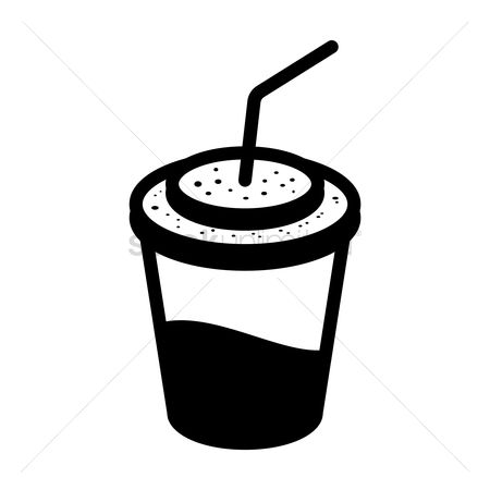 Take away cup : Drink icon