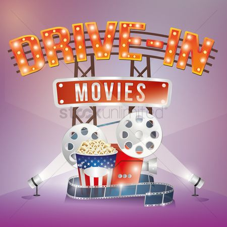 Popcorns : Drive in movies