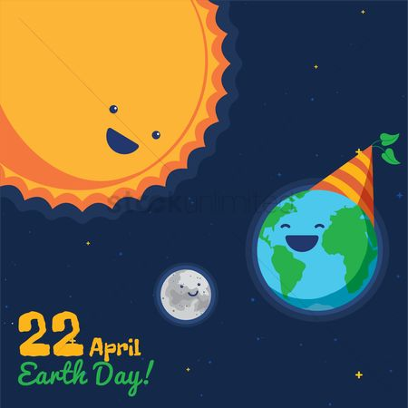 Month : Earth day design