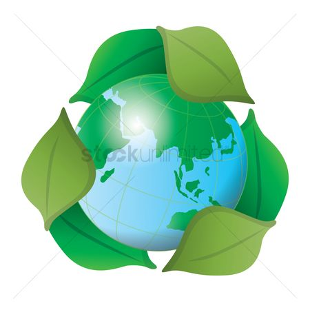 Pollutions : Earth day globe