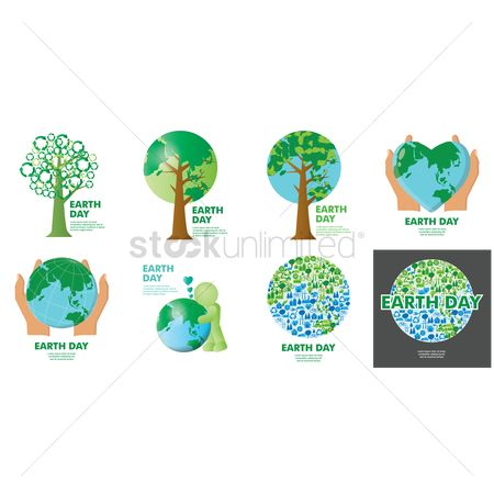 Save trees : Earth day icon