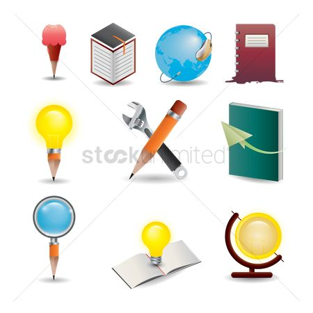 Success : Education concept set