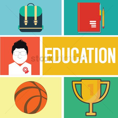 Basket ball : Education concept