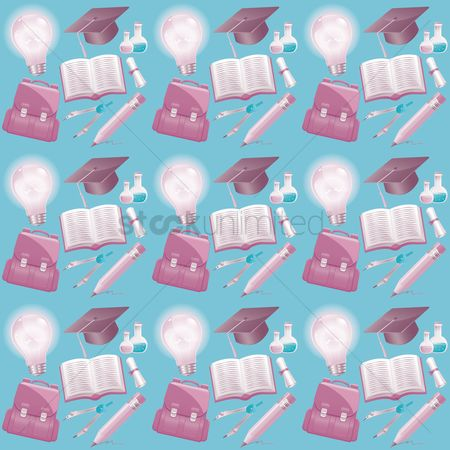School bag : Education theme background