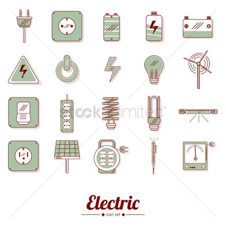 Screwdriver : Electric icons