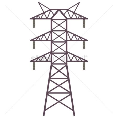 High voltage : Electric tower
