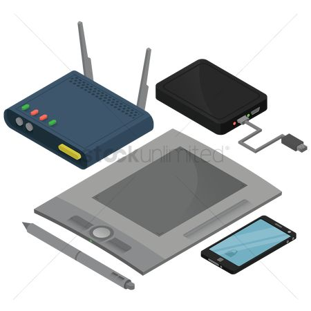 Routers : Electronic devices