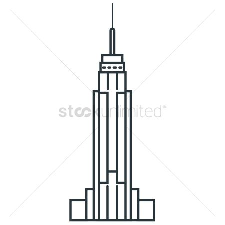 Skyscraper : Empire state building