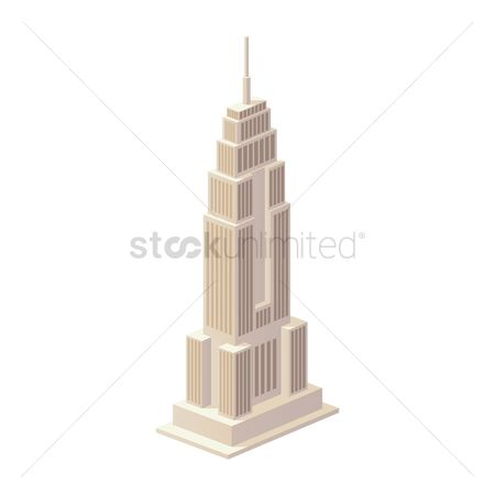 Tourist attractions : Empire state building