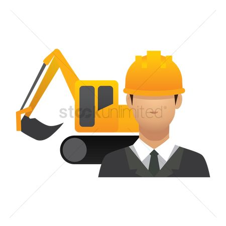 Machineries : Engineer and crawler digger