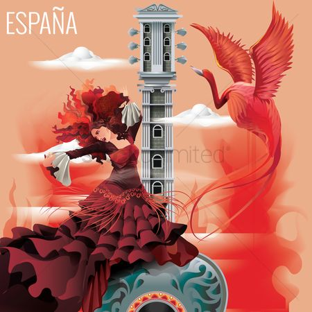 Clothings : Espana wallpaper