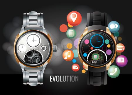 Email : Evolution of the watch