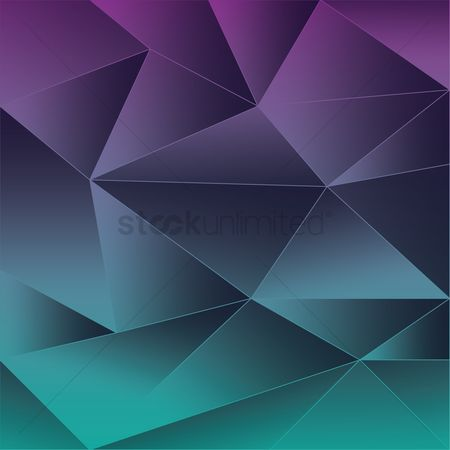 Polygonal : Faceted background