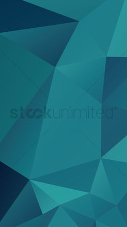 Phones : Faceted background