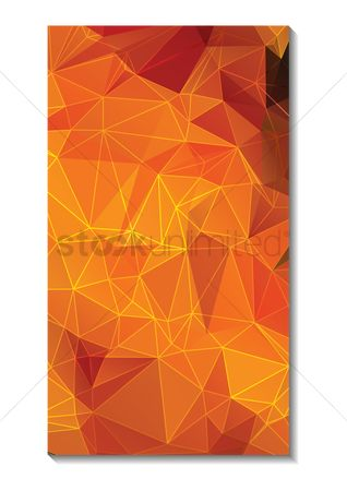 Screensaver : Faceted wallpaper for mobile phone